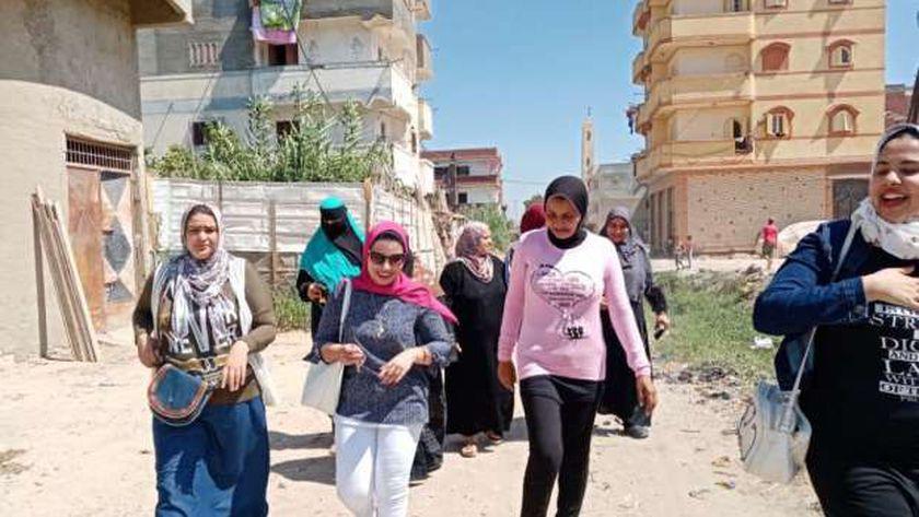 """أمانة المرأة بمستقبل وطن فى الإسكندرية تطلق حملة """"انزل شارك """"لتوعية النساء بأهمية المشاركة في انتخابات الشيوخ ودعم مرشحي الحزب"""