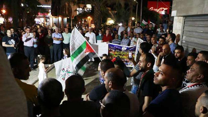 الاشتباكات في مدينة القدس