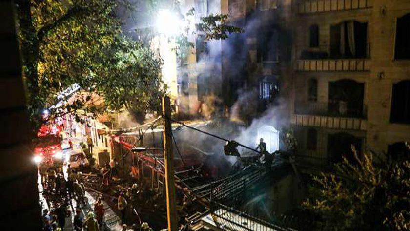 انفجار إيران