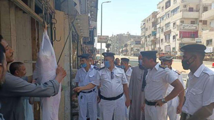 تحرير 600 محضر متنوع خلال حملة بنجع حمادي