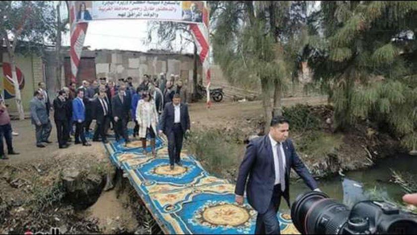 وزيرة الهجرة وشؤون المصريين بالخارج السفيرة نبيلة مكرم