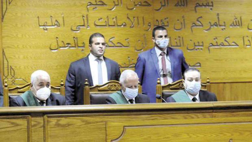 المحاكم ورجال العدالة استمروا فى عملهم رغم انتشار كورونا