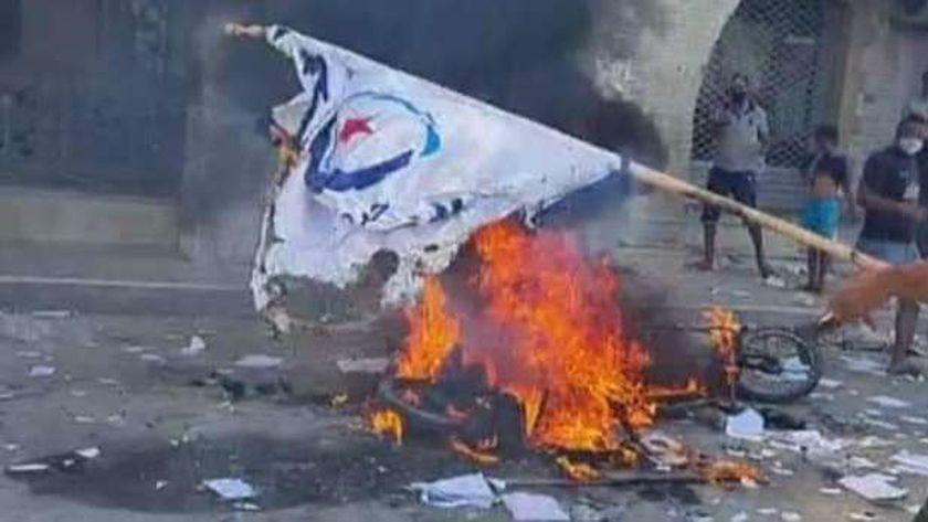 عاجل..اقتحام مقار لحركة «النهضة» الإخوانية في عدة مدن تونسية