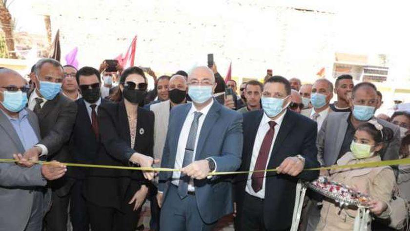 افتتاح مجمع تعليمي