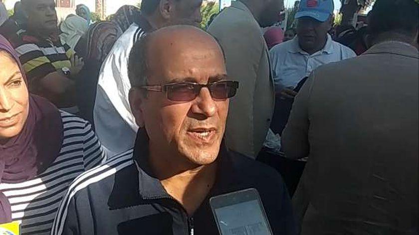 رئيس مياه الشرب في الإسكندرية