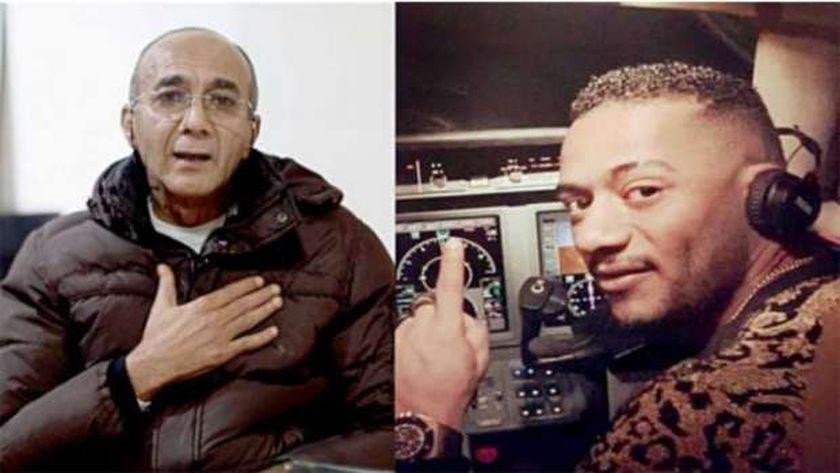 محمد رمضان وأشرف أبو اليسر