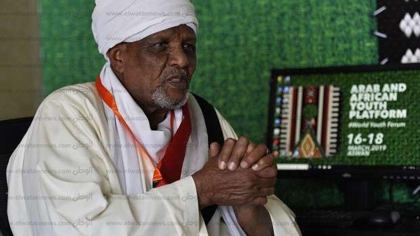 البطل النوبي أحمد إدريس في حوار سابق لـ«الوطن»