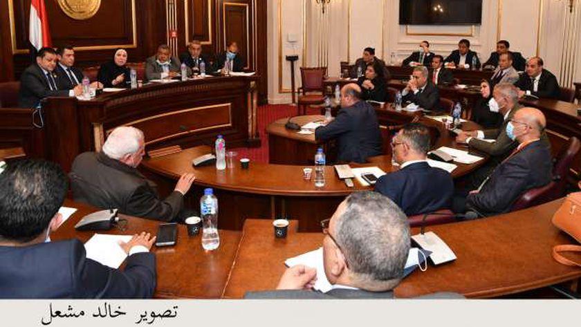 اجتماع سابق للجنة الصناعة بمجلس النواب