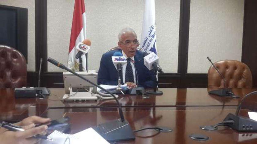 الدكتور عصام فرج الأمين العام للمجلس الأعلى لتنظيم الإعلام