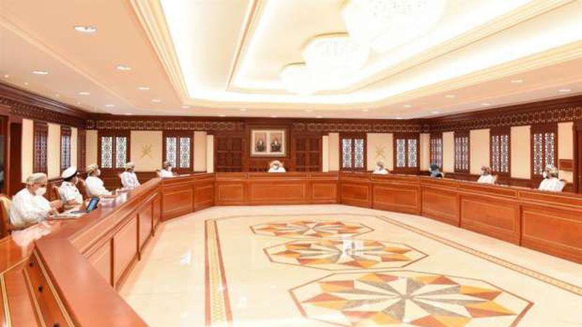 اجتماع اللجنة العليا في عمان