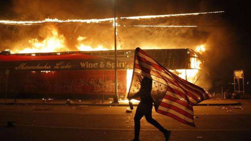 احتجاجات مدينة مينيابوليس