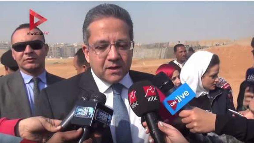 وزير الأثار-خالد العناني-صورة أرشيفية