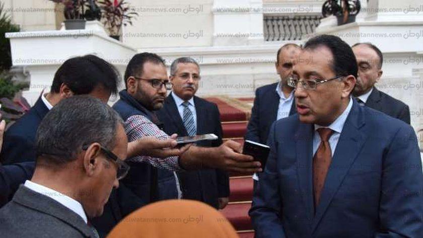 «مدبولى» يدلى بتصريحات بعد تكليفه بمهام رئيس الوزراء