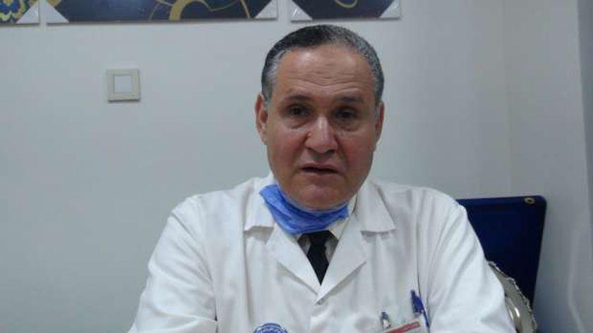الدكتور أحمد شقير - مدير مركز الكلي والمسالك البولية بجامعة المنصورة الأسبق