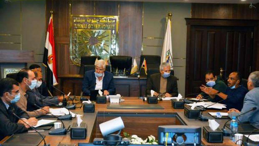 اجتماع لمناقشة مراحل التطوير