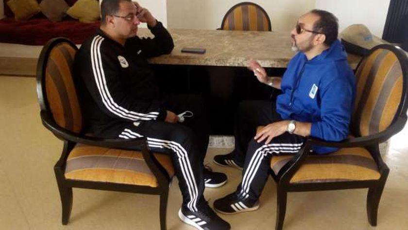المعلق الرياضي أشرف محمود يتحدث لـ« الوطن»