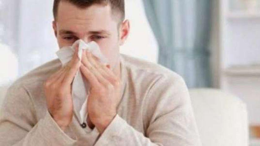 مصاب بالبرد