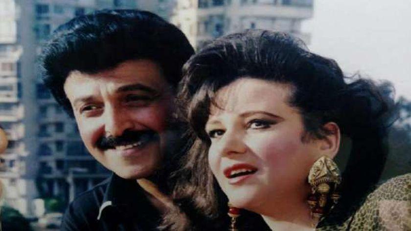الفنانة دلال عبدالعزيز والفنان سمير غانم