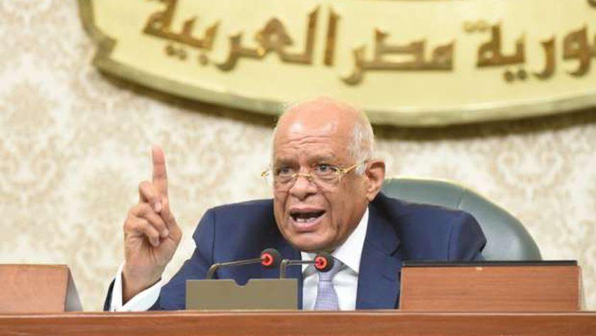 الدكتور علي عبد العال رئيس مجلس النواب