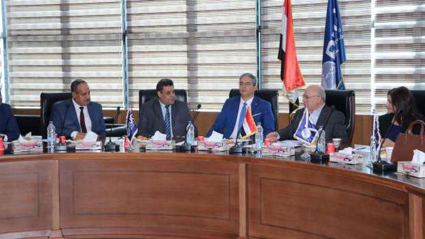 فعاليات توقيع بروتوكول تعاون بين نقابة الإعلاميين وجامعة بدر