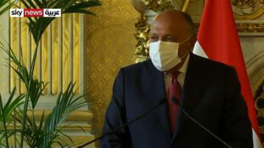وزير خارجية مصر سامح شكري