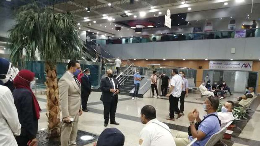 زيادة الحركة بمطار القاهرة الدولي قبل أيام من عيد الاضحى المبارك.. والمطار يستقبل 14575 مسافر خلال ال 24 ساعة الماضية