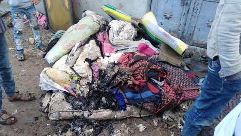 طفلة كفر الشيخ أحرقت منازل جيرانها