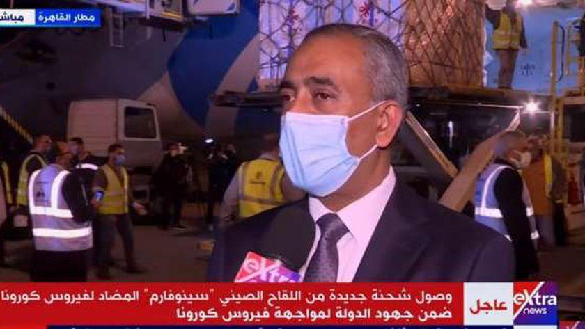 الدكتور مصطفى غنيمة، مساعد وزيرة الصحة لشؤون الطب العلاجي