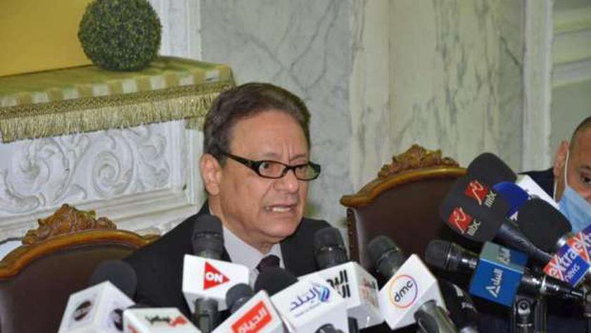 كرم جبر رئيس المجلس الأعلى لتنظيم الإعلام