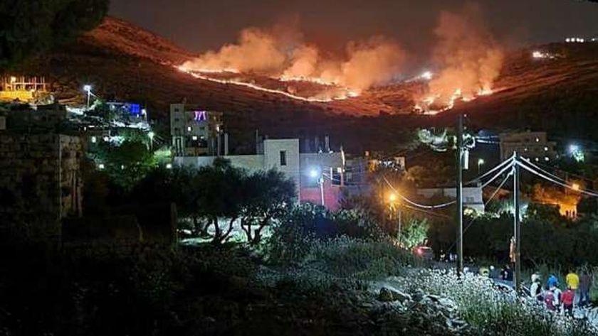 صورة من النيران