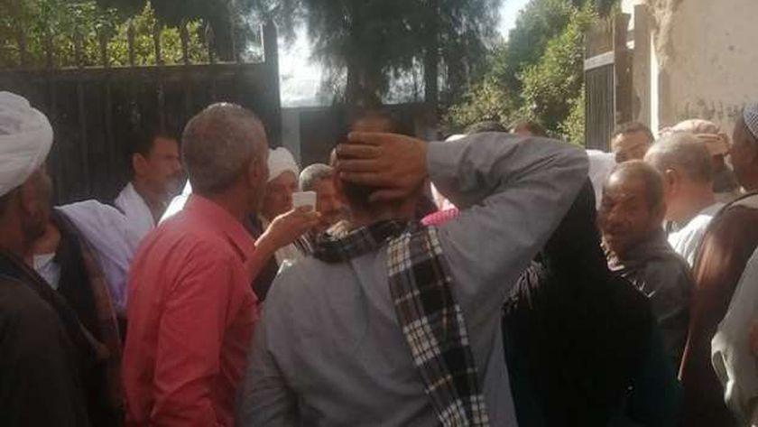 اقبال كثيف فى اول ساعات التصويت في دائرة الأكابربأسيوط