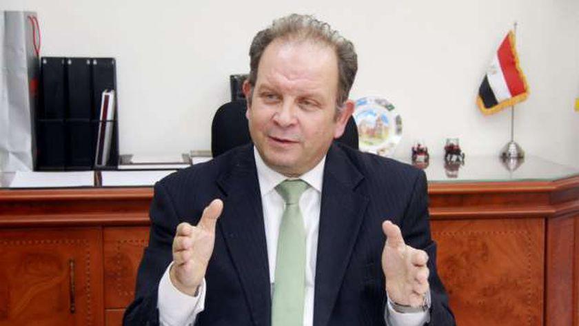 المهندس عاطر حنورة، رئيس مجلس إدارة شركة تنمية الريف المصري