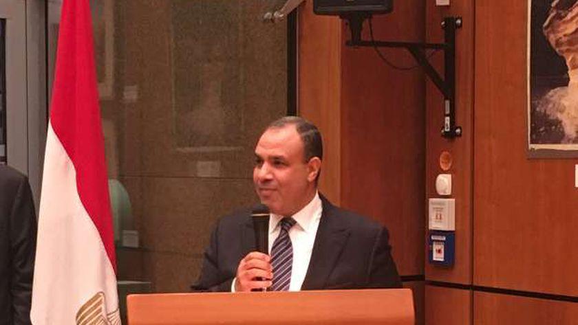 الدكتور بدر عبدالعاطي مساعد وزير الخارجية للشؤون الأوروبية