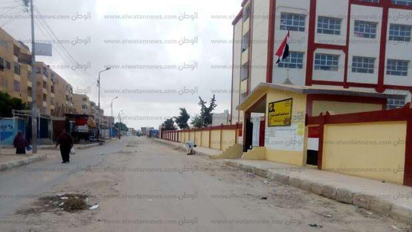 حى الشروق بمدينة مرسى مطروح