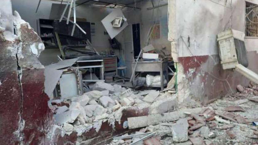 مشفى في عفرين