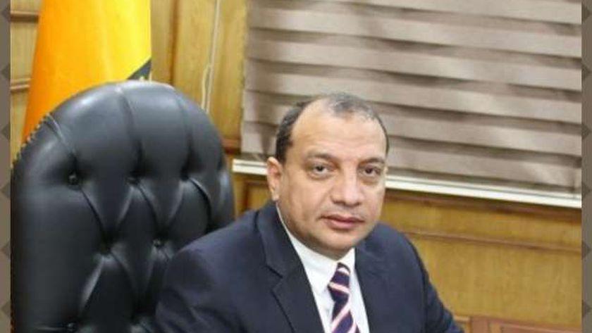 الدكتور منصور حسن رئيس جامعة بني سويف