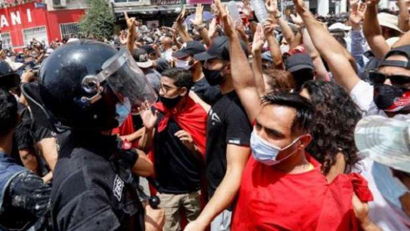 إحتجاجات تونس
