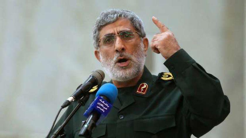 الجنرال إسماعيل قاآني قائد فيلق القدس في الحرس الثوري الإيراني