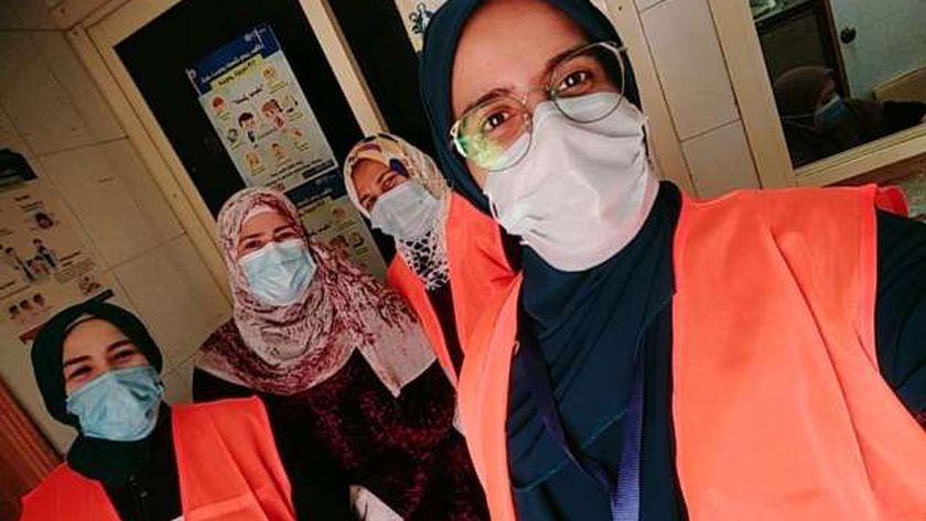 صورة سيدات قرية «العمار» يدشن حملة لمواجهة تداعيات كورونا في القليوبية – المحافظات