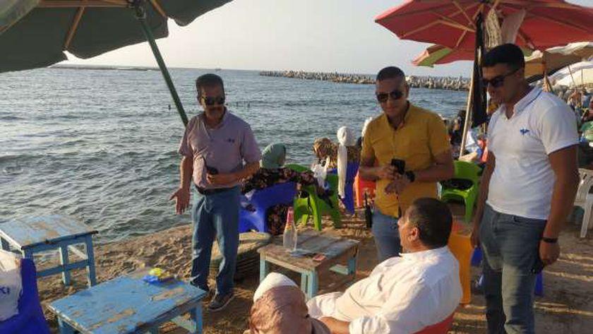 حملة على شواطئ الإسكندرية