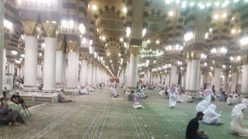المسجد النبوي بعد فتح العمرة للمعتمرين من الخارج