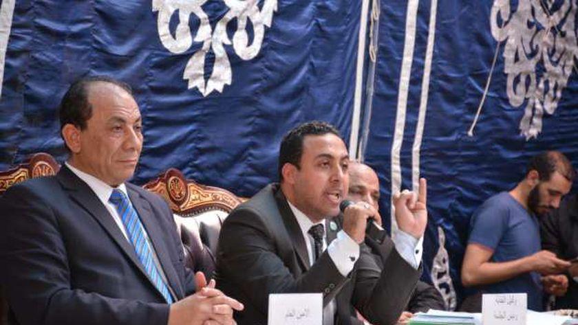 الدكتور محمد غريب أبو عميرة وكيل العلميين