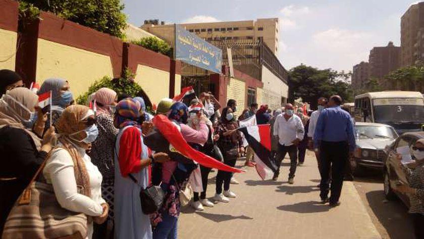 اقبال من الناخبين على لجان الشيوخ