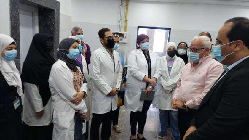 صورة محافظ بورسعيد: التشغيل التجريبي لمستشفى الصدر يبدأ الأسبوع الجاري – المحافظات