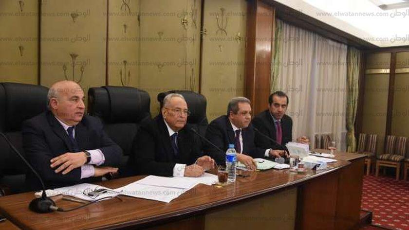 جانب من جلسة اللجنة التشريعية بمجلس النواب