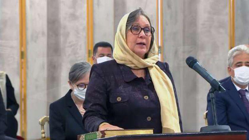 الوزيرة التونسية نائلة نويرة القنجي