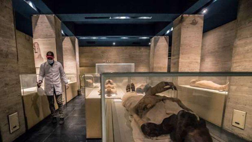 المومياوات في المتحف المصري