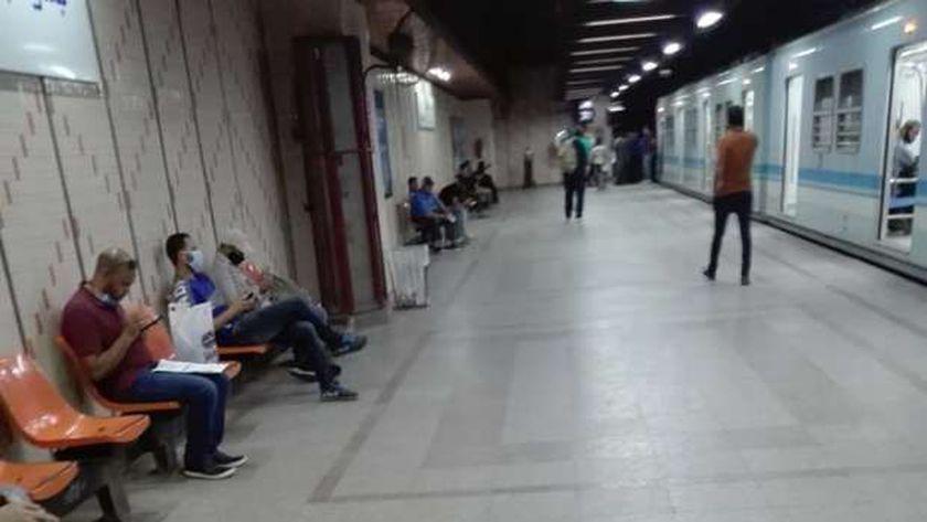 عطل مترو الأنفاق