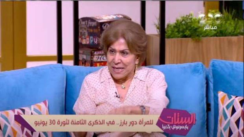 فريدة الشوباشي، الكاتبة والصحفية، رئيسة جمعية حقوق المواطن مصر