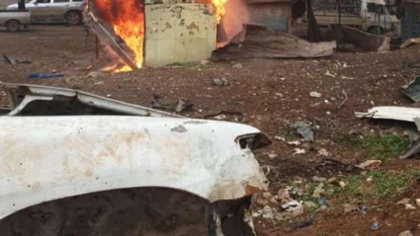 مقتل 5 سوريين بينهم طفل جراء انفجار سيارة مفخخة في «عفرين»